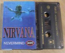 Cassette K7 Tape Metal NIRVANA Nevermind Audio Max 290 Raks Tape