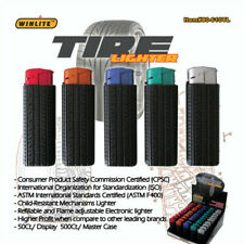 10 PCS ( ON SALE!!!!!!!!! ) NEW TIRE CIGARETTE LIGHTERS ELECTRONIC REFILLABLE