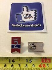 Montreal Canadiens Retired Player Banner Pin - Épinglette Doug Harvey #2