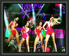 LITTLE MIX - Signed A4 Photo Poster - FREE POSTAGE