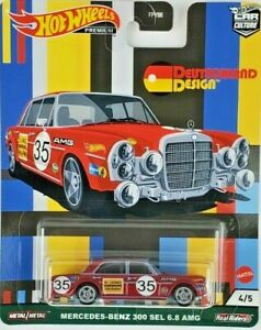 Hot Wheels Mercedes Benz 300 Car Culture Deutschland Design Series 4/5