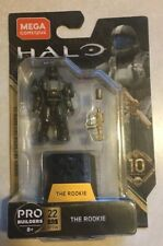 Mega Construx Halo The Rookie Series 10 Pro Builders - New