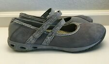Columbia Gray Omni Grip TechLite Canvas/Suede Flats/Shoes Size 8