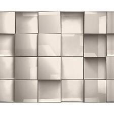 As Creation quadrato piastrella motivo 3D effetto trama tessuto non tessuto