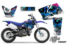 Yamaha TTR 90 Dirt Bike Graphic Sticker Kit Decal Wrap MX Parts 2000-2007 FRENZY