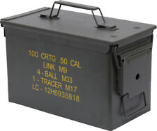 *Grade A*  .50 cal/9mm Ammo Cans  FREE SHIPPING!!!