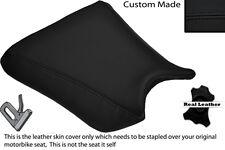 BLACK STITCH CUSTOM FITS KAWASAKI ZXR 250 88-91 FRONT RIDER LEATHER SEAT COVER