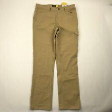 "Cabela's Women Prairie Tan Outdoor Adventure Pants sz 12 NWT (Actual 34x32"")"