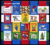 Niederlande Folienblatt MiNr. 1753-72 postfrisch MNH Weihnachten (OZ1220