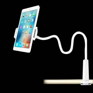 360 Gooseneck Table Holder Bed Stand Clamp Mount For iPad Tablet Flexible Arms
