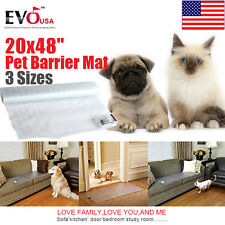 "20X48"" Indoor Pet Safe Shock Mat Electronic Cat Dog Training Scat Mat Pad New"