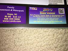 Land Of Make Believe Hope NJ Admission Ticket Pass Buy One Get bogo Free Savings