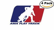 AMA Flat Track Racing Bumper Sticker 5x3