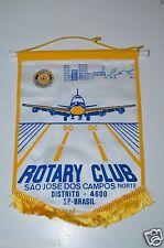 São José dos Campos Sao Paulo Brazil Rotary International Club Wall Banner Flag