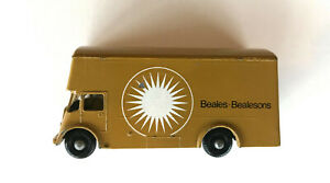 VERY RARE Matchbox LESNEY #46 PICKFORDS BEALES BEALESONS Removal Van; Promo Xcel