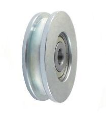 Seilrolle Ø 59 mm fur Seil Metallrolle Profil Rollen KUGELLAGER *CM59