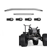1Set Steering Links with Tie Rod End For 1/10 TRAXXAS TRX-4 RC Crawler Car Part