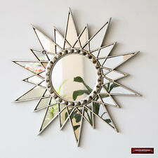 "Star Mirror 23.6""- Decorative Wall Mirror Cuzco style 'Silver Star' - Home Decor"