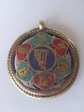 Om mani padme hum Shadakshari form of Avalokiteshvara Sanskrit mantra Pendant
