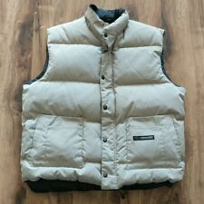EUC Canada Goose Mens Freestyle Down Vest XL Tan 100% Authentic
