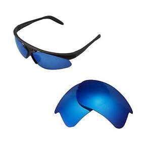 Walleva Polarized Ice Blue Replacement Lenses For Bolle Vigilante