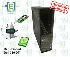 Refurbished Dell OptiPlex 390 DT - intel Core i3, No RAM, No HDD, Windows COA