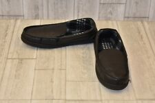 **The Black Series Moccasin Slippers - Unisex Large M(9/10) W(10/11) - Black