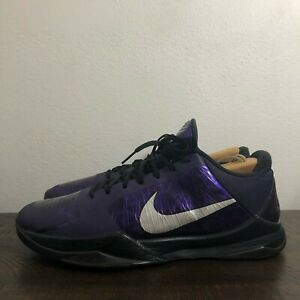 Nike Zoom Kobe V 5 Purple Ink Lakers