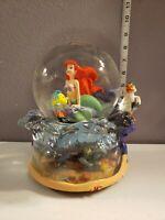 Disney's The Little Mermaid Ariel Musical Snowglobe Under The Sea
