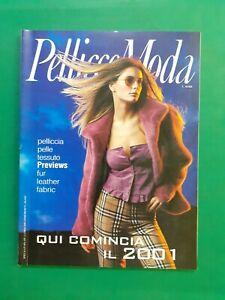 Piel Moda Revista 1 Febrero 2000 Furs Pret A Porter Spring Summer No Vogue