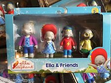 2015 Jazwares Ella the Elephant Cartoon Ella & Friends Figures 4-Pack Set MIB