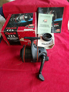 A SUPERB CONDITION SCARCE BOXED DAM QUICK CFA CLOSED FACE MATCH REEL