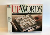 1988 MB Milton Bradley UpWords 3-Dimensional Crossword Board Game - Brand New!!