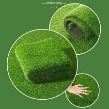 Artificial Grass Carpet Green Fake Synthetic Garden Mat Landscape Turf Lawn V1A6
