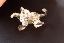 "2"" Swarovski Crystal Lion Figurine Decorative Collectible Rmc"