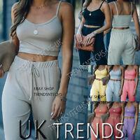 Addiction Femmes Nude soutien-gorge Piece Crop Top Lounge Wear Survêtement Fashion h/&m style