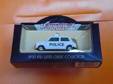Lledo No 74002 - Diecast Model Of A 1959 White Austin 7 Mini - POLICE MINI