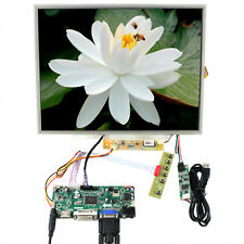 "HDMI DVI VGA LCD Controller Board 15"" 1024x768 N150XB LTN150XB Touch LCD Panel"