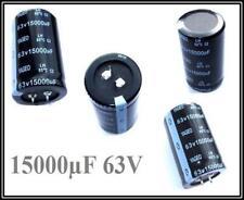 Snap-In Elko Kondensator 15000µF 63V 85° 35x52mm Raster 10mm 1 Stück