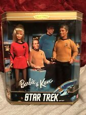 1996 Barbie and Ken Star Trek 30th Anniversary Gift Set Collector Edition
