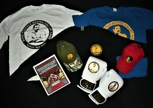 Bare Knuckle Boxing Hall of Fame Package (SHIRTS ARE XL) hats program gloves