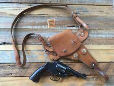 """Cold War 1950's Norris Murray Design U.S. Air Force Shoulder Holster 4"""" Revolver"""