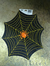 "12x14"" Spiderweb and Spider Halloween Cardstock Wall Window Decoration Decor"