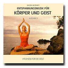 CD Entspannungsmusik für Körper und Geist - Ausgabe 5 (Wellness für die Seele)