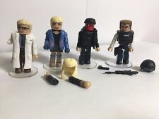 Marvel Minimates-Amazing Spiderman-Gwen Stacy-Dr. Connors-Vigilante-Capt. Stacy