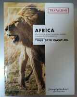 AFRICA Your 2020 Trafalger Vacation Brochure NEW 35 pages