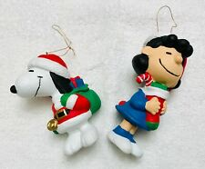 New ListingKurt S. Adler Ufs Peanuts Christmas Tree Ornaments Lucy & Snoopy