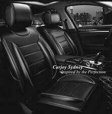 Padded Black Leather Car Seat Cover Nissan X-Trail Pulsar Navara Qashqai Murano
