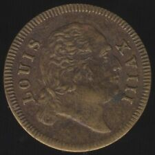 More details for germany louis xviii spiel marke jetton   pennies2pounds