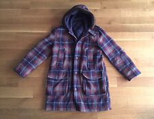 OUR LEGACY Mens Wool Cheyenne Shearling Hooded Parka Coat Size 50 L Large $795